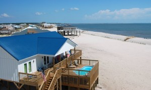"""Island Time II"" has a direct Gulf of Mexico view and is a popular beach rental"